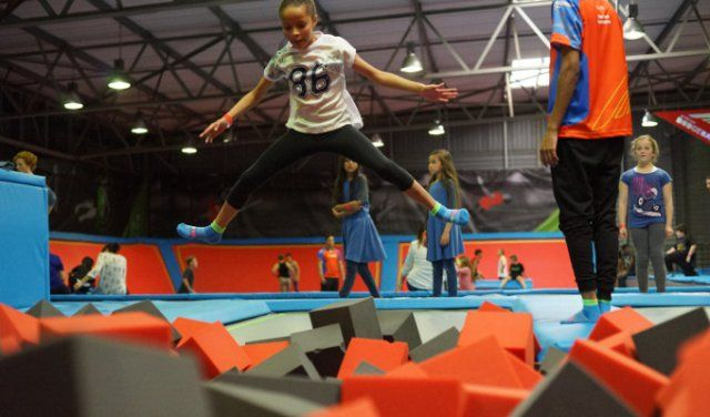 Rush Trampoline Park in Cape Town | Indoor & Family Activities, Things to Do…