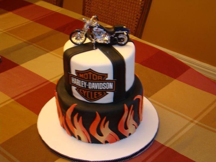Harley Davidson Cake Awesome Cakes Cake Birthday Cake