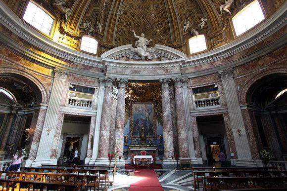 Sant'Andrea al Quirinale 1658-70 Roma | Bernini | Pinterest