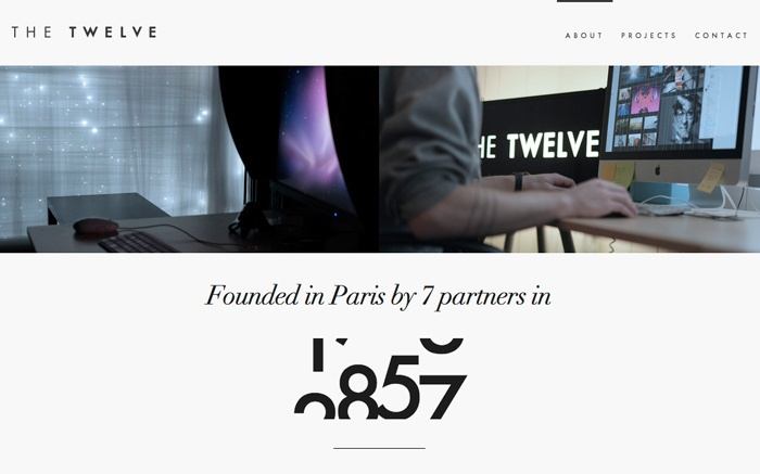 January 2013: The Twelve http://www.awwwards.com/web-design-awards/the-twelve#