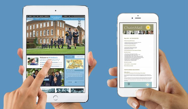 Think Creative   Design studio services for Independent Girls School   St Swithun's   Hampshire
