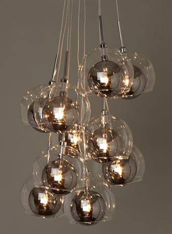 35 best lights images on pinterest home ideas lamps and light mila cluster ceiling lights home lighting furniture mozeypictures Images