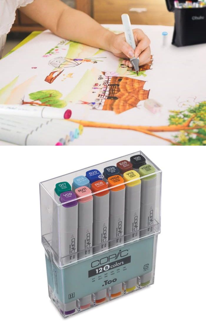 8 Best Art Marker Sets For Coloring Enthusiasts And Professional
