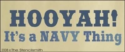 HOOYAH! It's a Navy thing