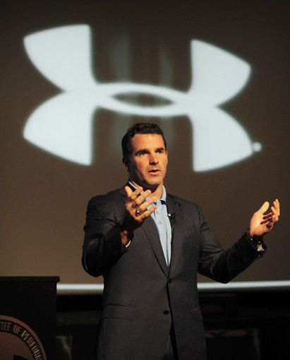 """""""You need to put your hands around the throat of your business, and you need to run it. There's no other way.""""  Kevin Plank"""