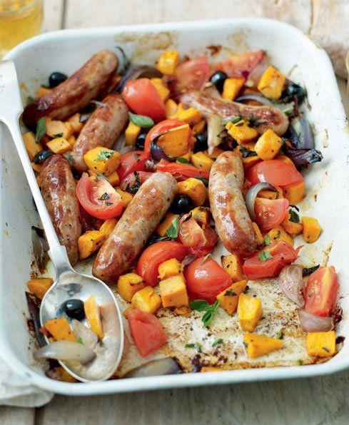 Mediterranean Sausage One Pot