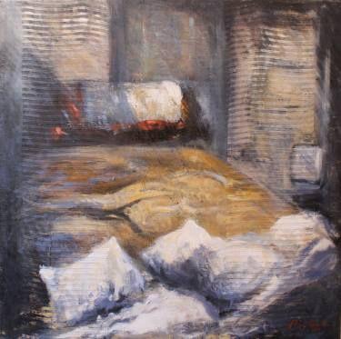 "Saatchi Art Artist simone Butturini; Painting, ""Pillows and blankets"" #art"