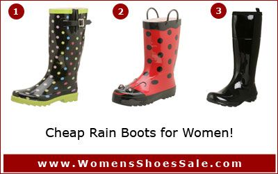 Cute Cheap Rain Boots | Cute Cheap Shoes Women on Cheap Rain Boots ...