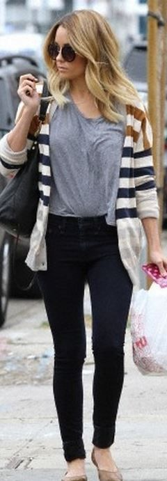 Lauren Conrad: Purse – Elizabeth and James  Sweater – Urban Outfitters