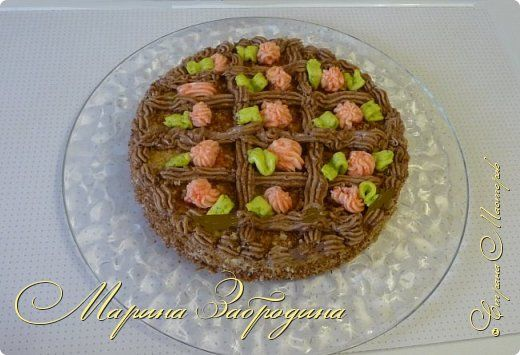 Бисквитный торт Сказка Просто