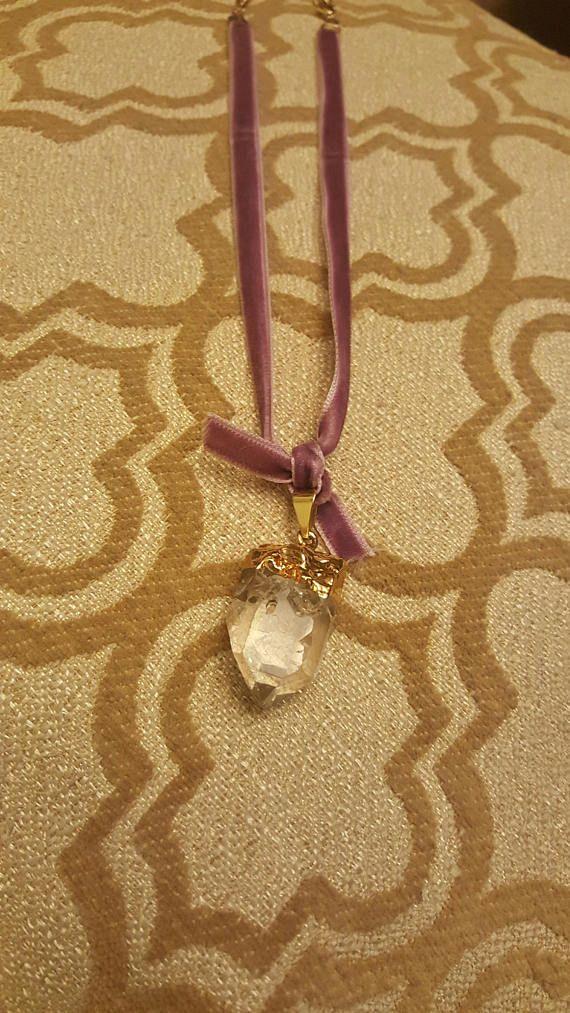 Juliet Velvet Crystal Choker velvet ribbon choker quartz