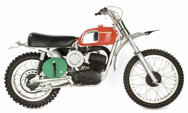 1970 Husky 250 Malcolm Smith
