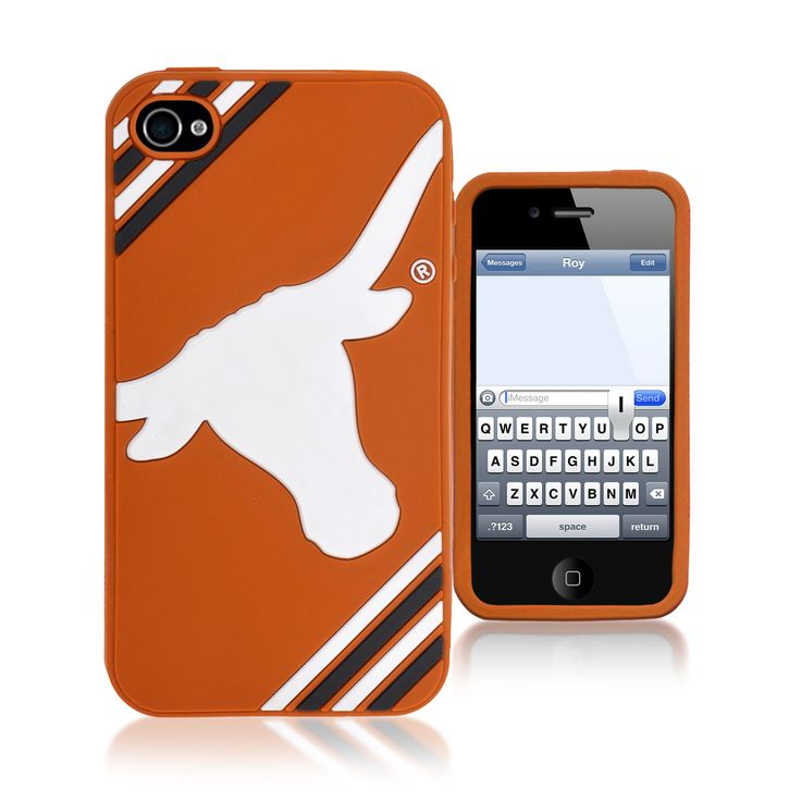 Refurbished Forever Collectibles Ncaa Texas Longhorns iPhone 4/4S Silicone Phone Case
