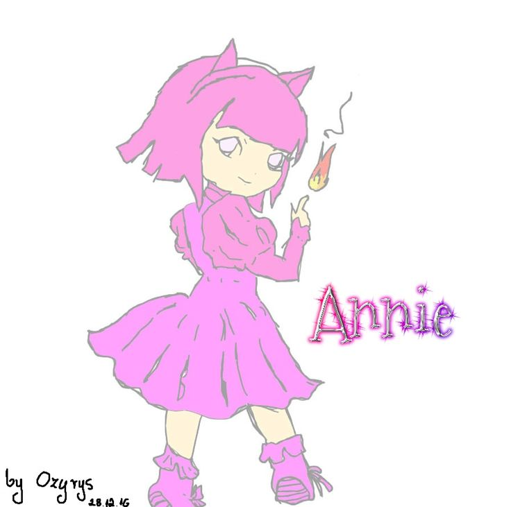 #LeagueOfLegends #Annie