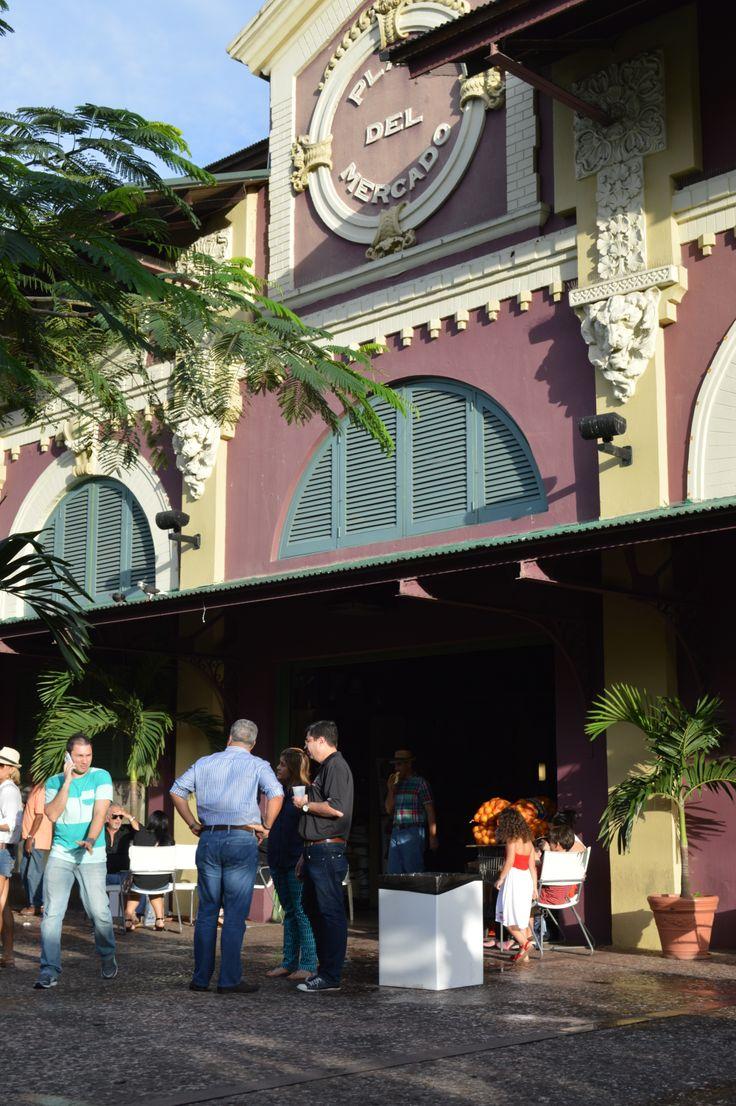 La Placita, Plaza del Mercado de Santurce. San Juan, PR. Great place to enjoy salsa musuc or eat typical food.