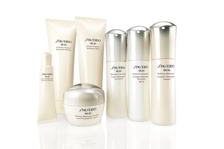 Descubre la nueva gama Ibuki de Shiseido en tiendas Sephora