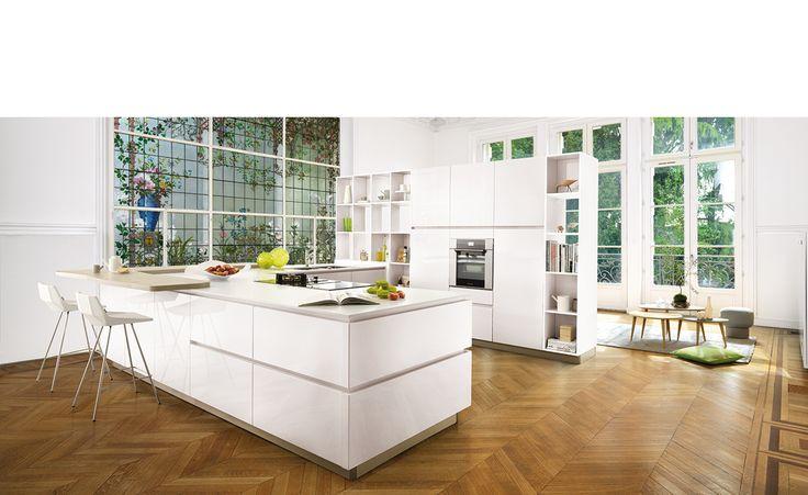 Cuisine design laque brillant strass eolis for Kitchen design 8 x 6