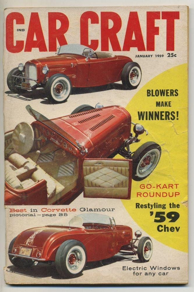 Car Craft Magazine Covers