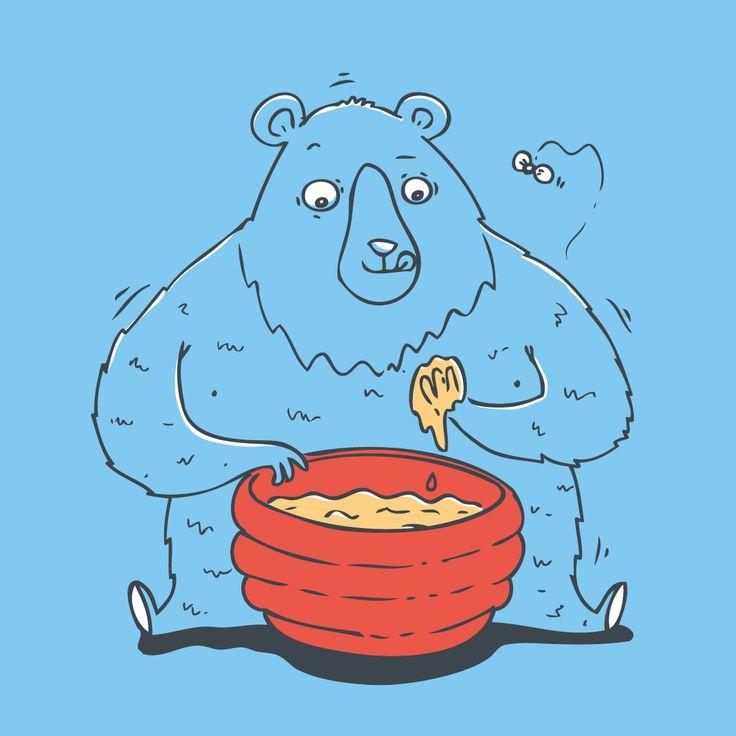 Honey bear / dolynda.cz