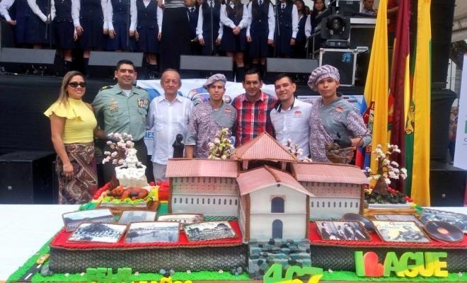 policia garantizo la seguridad en la celebracion de los 467 aaos de ibague