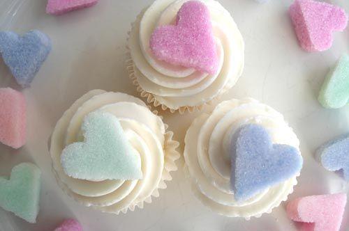 bTo Decorate, Pequeños Para, Sugar Cubes, Cupcakes, Sucre, Pretty Things, Sugar Hearts 17, Ems Formas, Diy Sugar