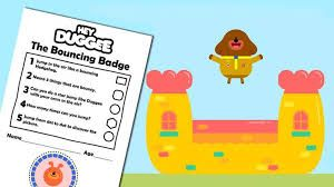 Image result for hey duggee template