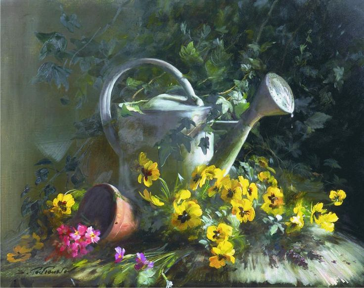 Watering can...