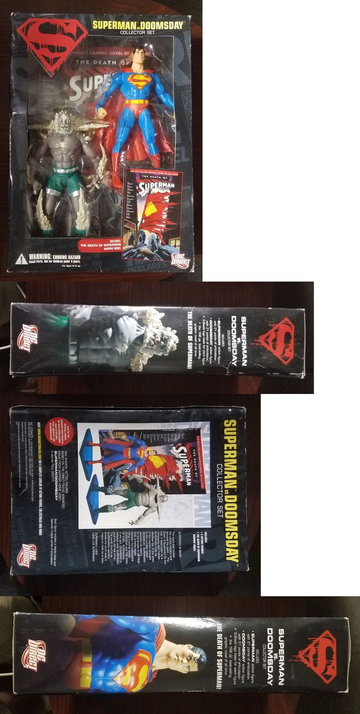 Comic Book Heroes 158671: 07 Mib Dc Direct Superman Vs Doomsday Action Figure Collectors Set + Comic Book -> BUY IT NOW ONLY: $34.99 on eBay!