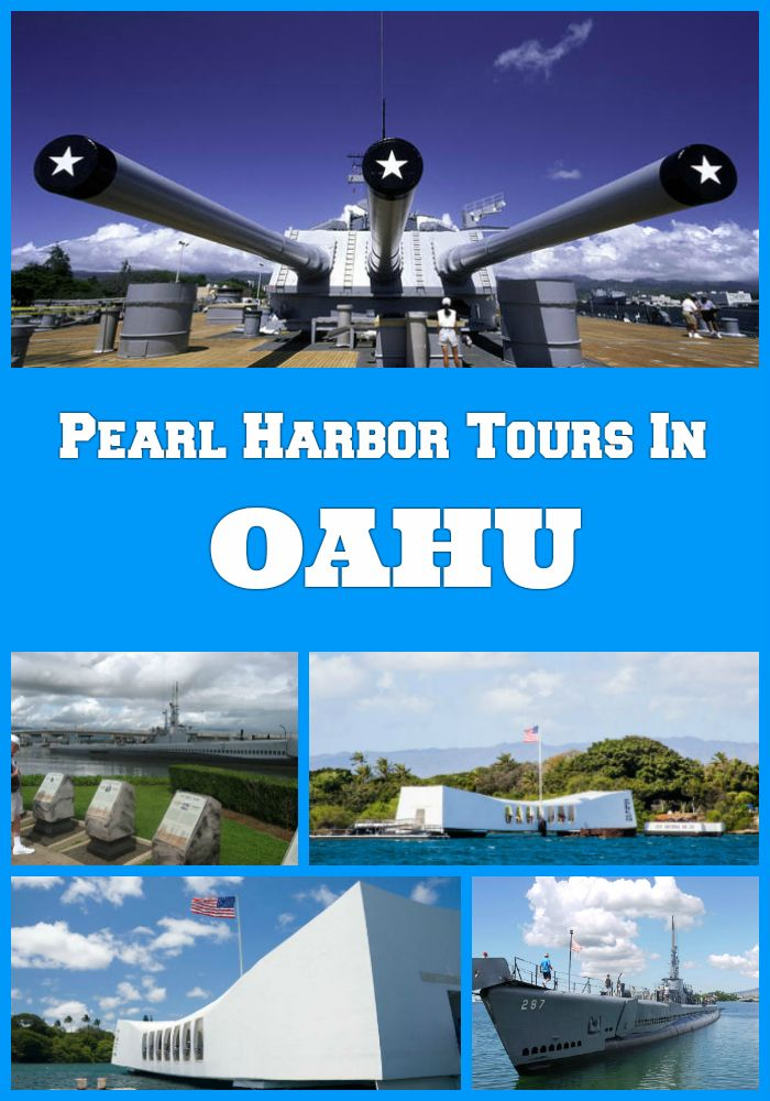 Pearl Harbor Tours In Oahu, Hawaii from Waikiki hotels and Honolulu: USS Missouri, USS Bowfin, Arizona Memorial, Battleships, Punchbowl and War Heroes