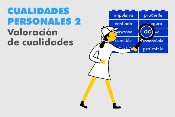cualidades personales 2 VALORACIÓN DE CUALIDADES