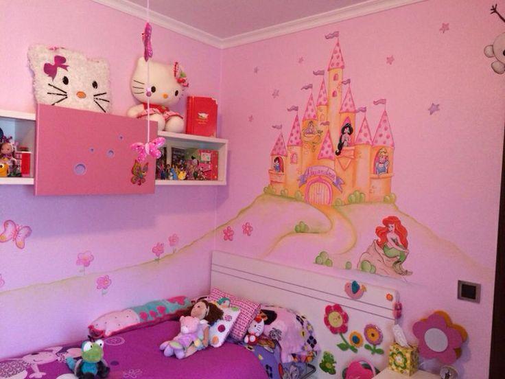 Decoracion recamaras para ninas - Decoracion cuarto infantil nina ...