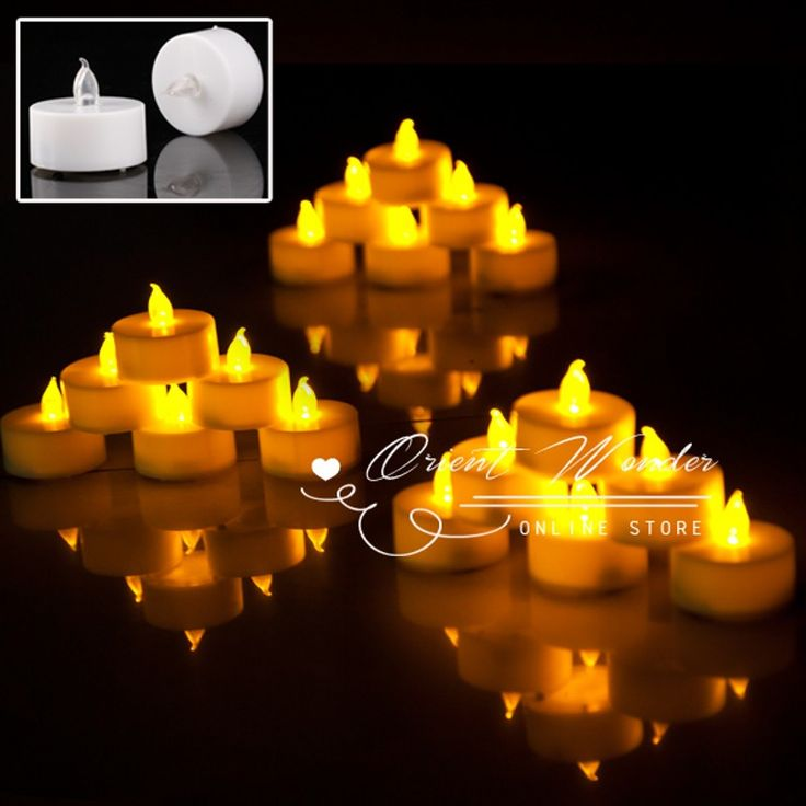 Aliexpress.com : Buy Freeshipping,18 pcs/lot Smokeless flameless Electronic LED candle light flashing 1.5 inch Candle Lamp wedding party from Reliable candle flicker suppliers on Orient Wonder  | Alibaba Group