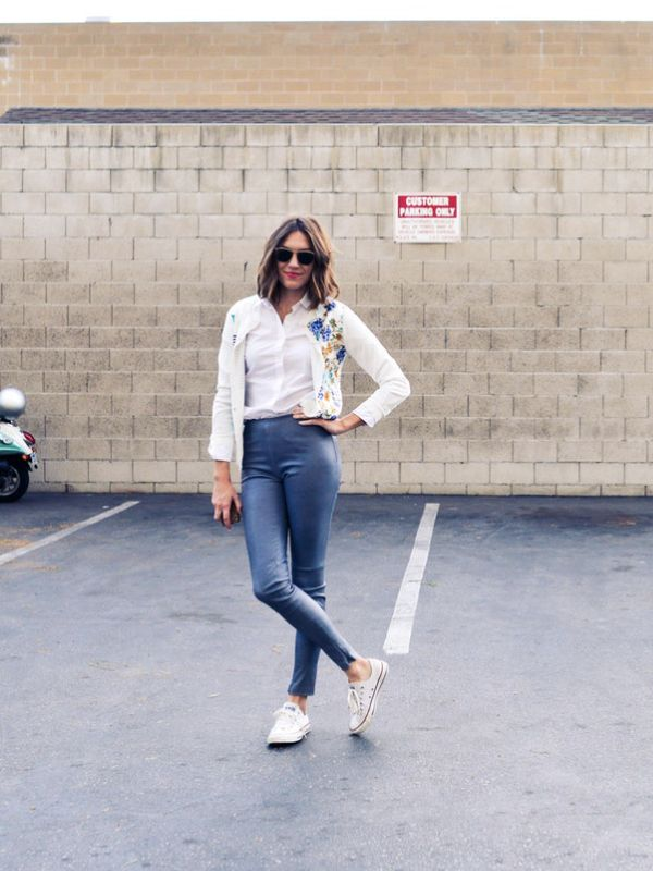 A tall girl's defense of short pants | ankle length pants | ourguidetotheeveryday.com