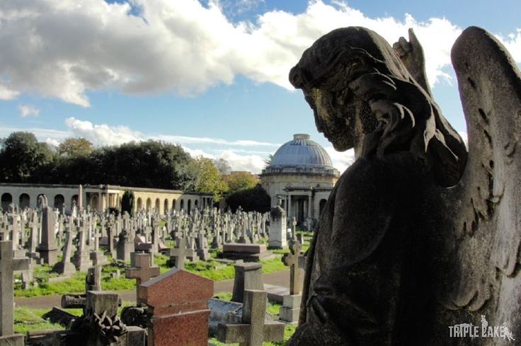 Brompton Cemetery  #London #BromptonCemetery #places