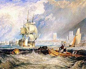 Portsmouth - Joseph Mallord William Turner, 1775-1851 - OldMastersOnline.com