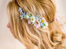 Blumenkranz Hochzeit Haarband Blumen Dirndl Krone