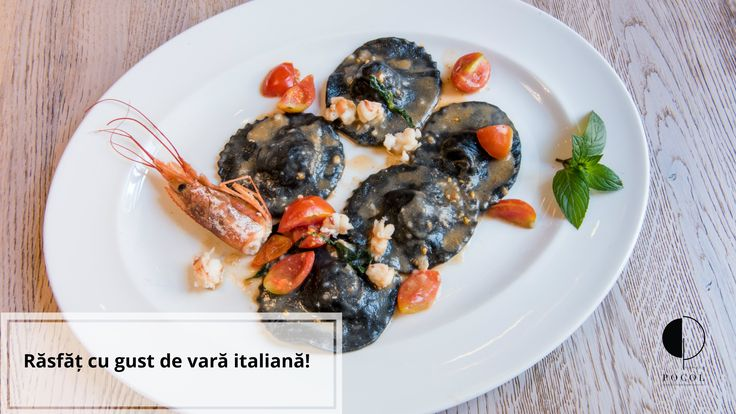 Seafood speciality for the summer. Trattoria Pocol. Brasov. Delicacies. Tasty. Italian. Speciality.
