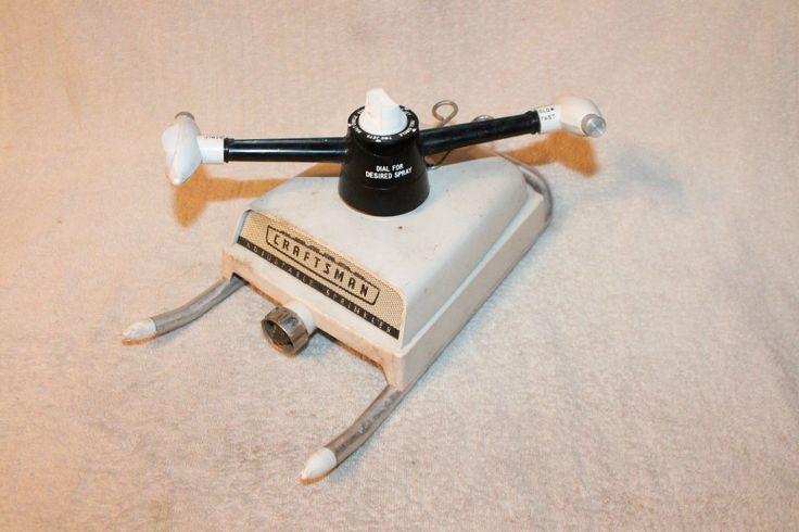 X Sears Craftsman Revolving Stationary Lawn Sprinkler w Box Parts Sheet 7925 | eBay