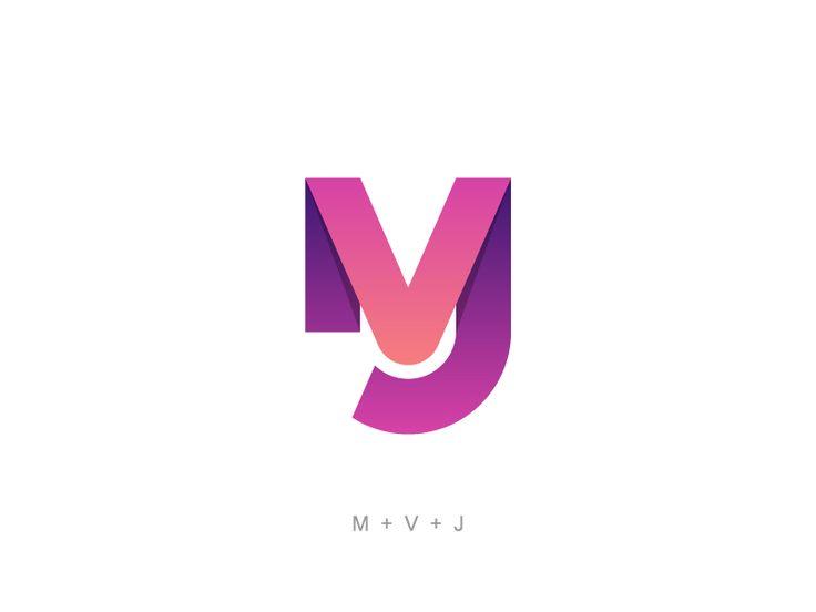 MVJ by Logo Positive #Design Popular #Dribbble #shots