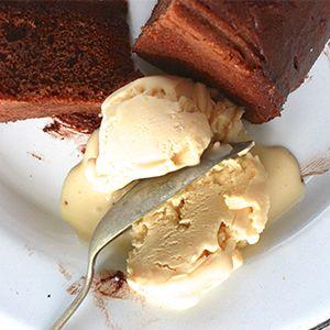 Malted Barley Ice-Cream by Imen McDonnell.   Creamy malted vanilla ice-cream - just like a milkshake.