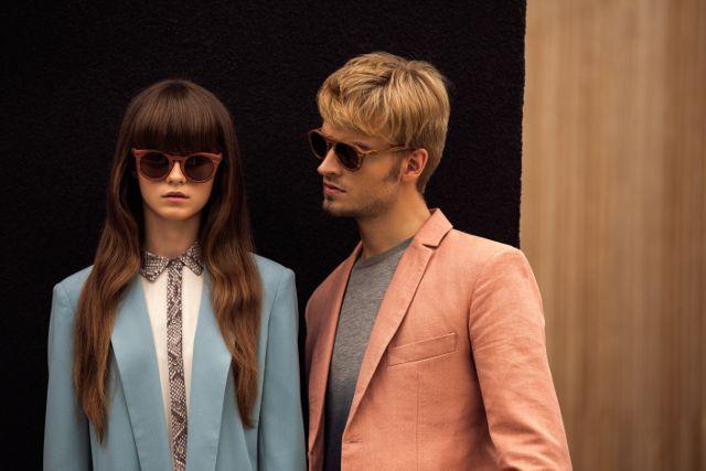 Drewniane okulary :) #moda #fashion #okulary