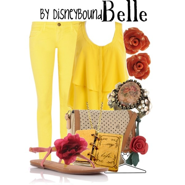 """Belle"" by lalakay on Polyvore #disney: Disneybound Belle, Belle Disney, Disney Outfits, Dreams Closet, Disney Clothing, Disneybound Outfits, Disney Bound, Disney Inspiration Fashion, Disney Fashion"