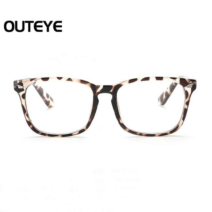 Retro Optical Myopia Glasses Fashion Clear Lens Eyewear Nerd Eye Glass Frame Transparent Computer Eyeglasses Frame For Men Women #CLICK! #clothing, #shoes, #jewelry, #women, #men