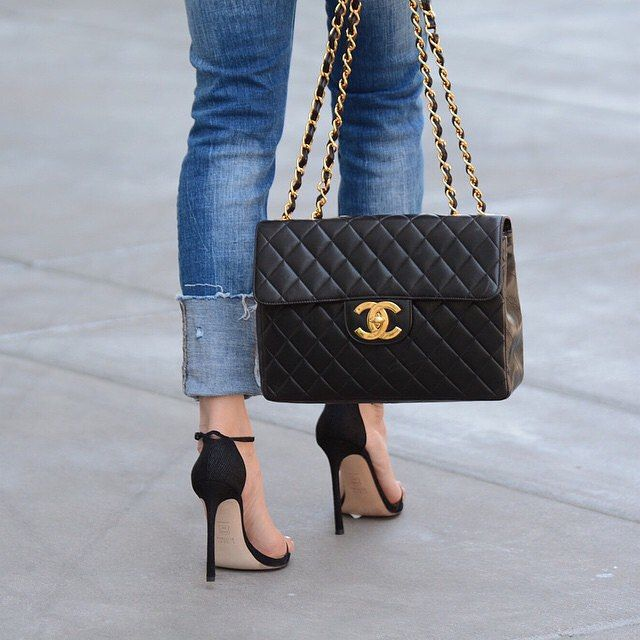 Back In Black The Nudist Always Makes A Statement Link Our Bio Lolariostyle Inourshoes Chanel 2018 Pinterest Handbags Bags And