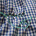 Broder les smocks( sans plisseuse) - 3- une autre technique - 1,2 et 3 soleils