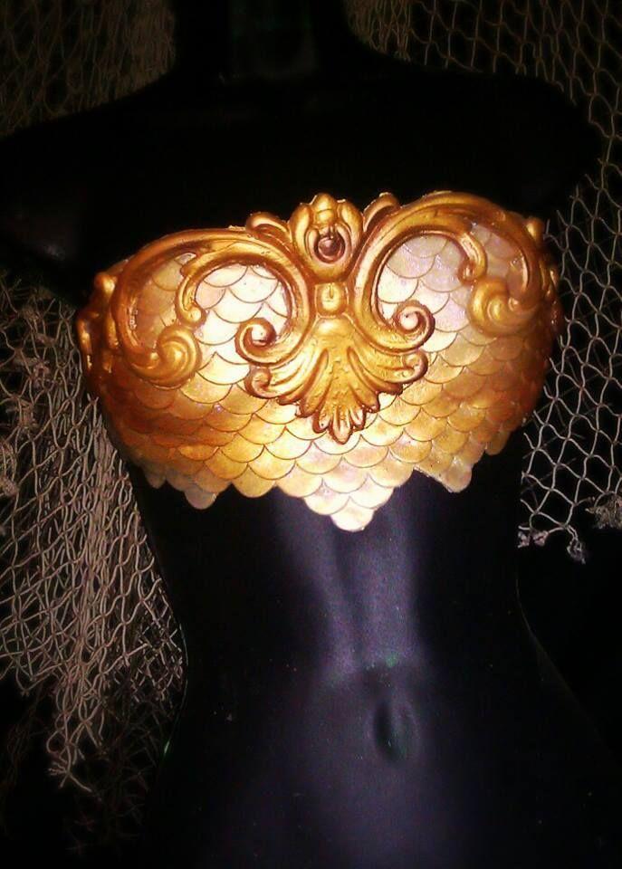 Beautiful Mermaid bra from Merbella Inc! I want!