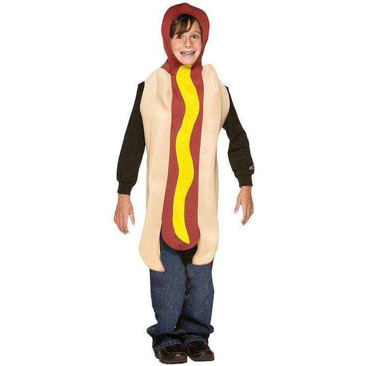 Hot Dog Costume - Kids, Multicolor