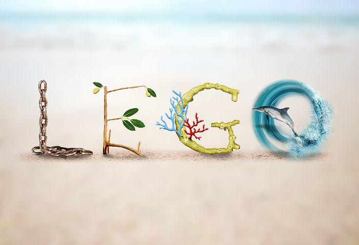 Logo Design - Linking Estuaries, The Great Barrier Reef & Oceans - Marine Teachers Association
