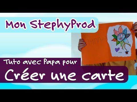 Tuto Enfants 4/5 ans - Créer une carte pour la fête ou l'anniversaire de maman - Mon StephyProd