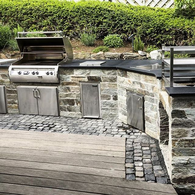 183 best Grillecke images on Pinterest | Outdoor kitchens, Outdoor ...